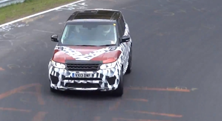 More Powerful RR Sport and Evoque Spotted at the Nurburgring [Video]