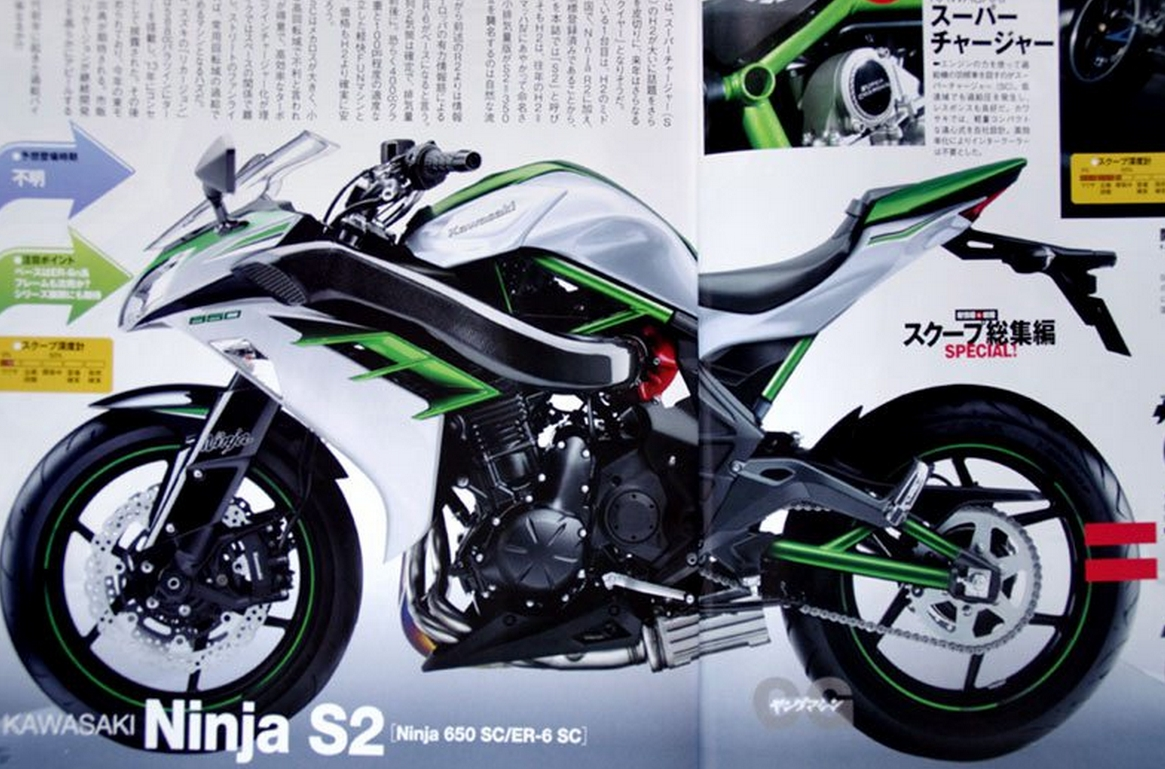 More Supercharged Kawasaki Bikes Rumored Photoshopped Images