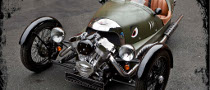 Morgan 3 Wheeler, Half a Car, Double the Fun