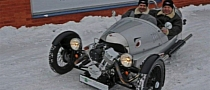 Morgan 3 Wheeler Ice Speed Record Attempt