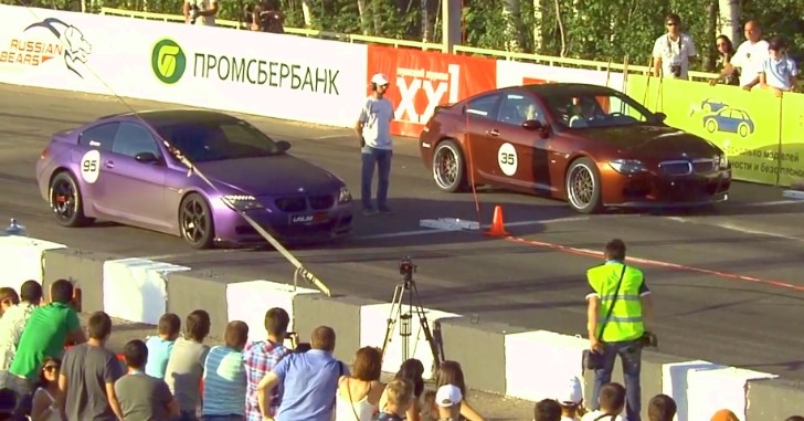 Moscow Mile: It's a BMW M6 Party - Video