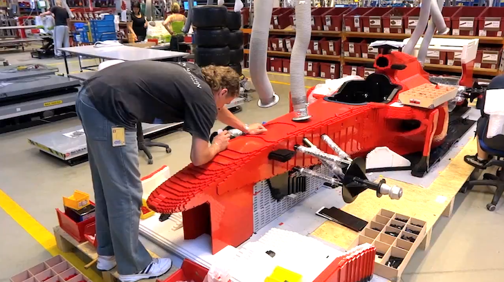 Most Amazing Cars Ever Built from Lego - autoevolution