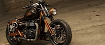 Most Awesome Triumph Bonneville by Officine GP Design [Photo Gallery]