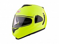 High-visibility helmets are good if you want to be seen on the road
