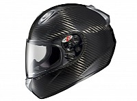 A full-face helmet offers the best protection