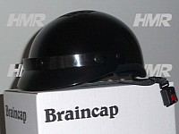 Though some are DOT-approved, braincaps come with little protection
