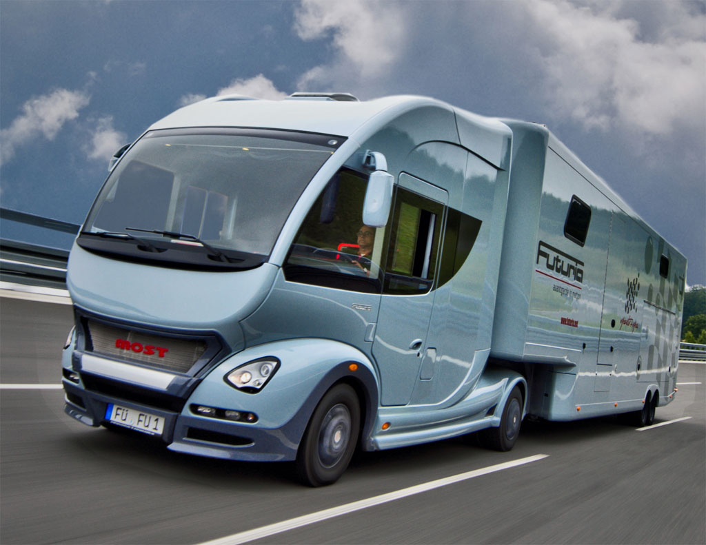 Most futuria motorhome offers the full package autoevolution for Motor homes los angeles