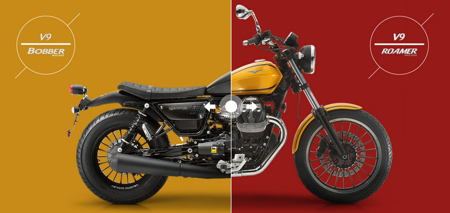 moto guzzi v9 bobber and v9 roamer prices announced. Black Bedroom Furniture Sets. Home Design Ideas
