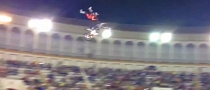 Motocross Jump Fails Big Time, Rider Shaken But Alright [Video]