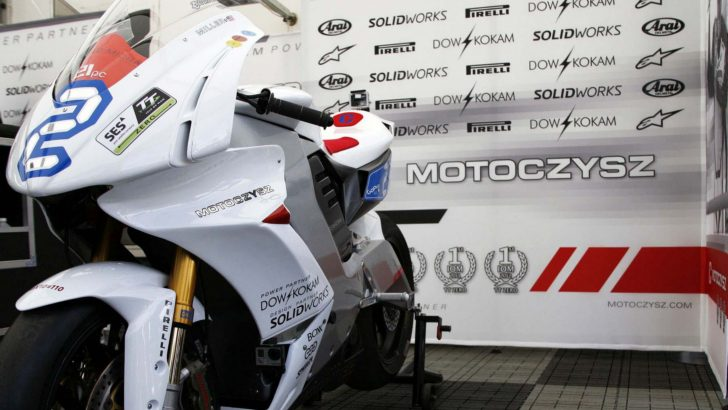 MotoCzysz E1pc D1g1tal Superbike [Photo Gallery]