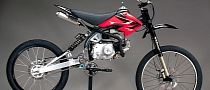 Motoped, the Motorized Mountain Bike [Photo Gallery][Video]