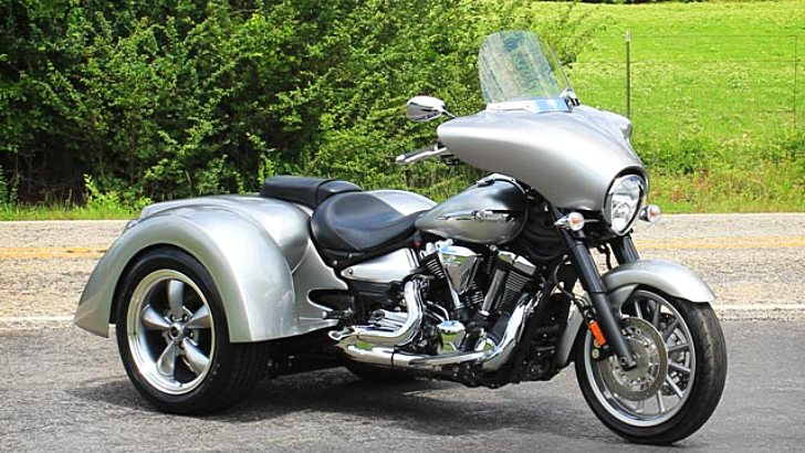 Motor Trike Announces New Trike Kit for Yamaha Stratoliner [Photo Gallery]