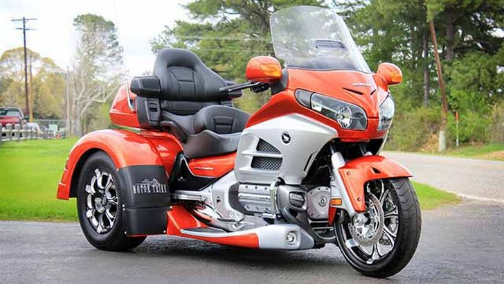 motor trike irs mod kit for honda gold wing autoevolution. Black Bedroom Furniture Sets. Home Design Ideas