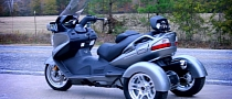 Motor Trike Suzuki Burgman 650 Trike to Make You Drool