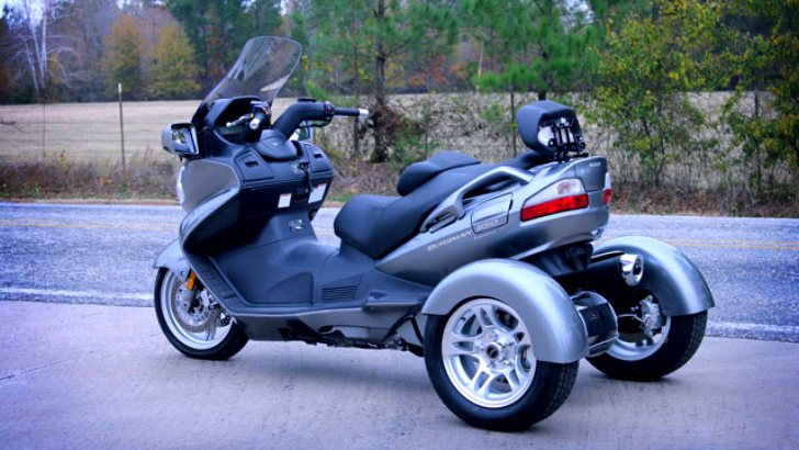 Suzuki Burgman Trike Conversion Kits