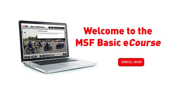 Motorcycle Safety Foundation Offers Basic eCourse Safety e-Learning Program