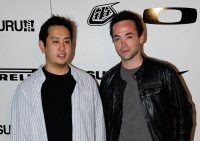 Joe Hahn and John Hensley, the exhibit organizers