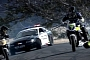 Motorcycle vs. Car Drift Battle 2: Police Chase [Video]