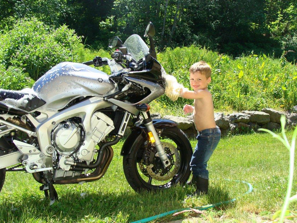 Lavando a moto - 3 2