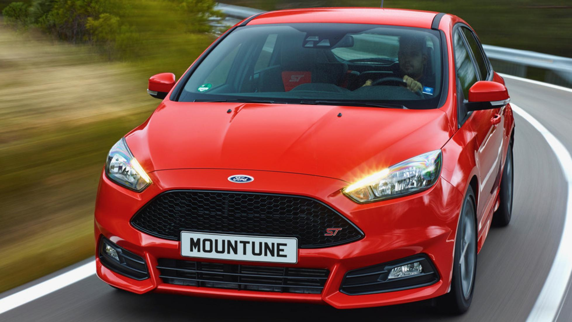 5 photos. Mountune m460D power upgrade for Ford Focus ST diesel manual ...