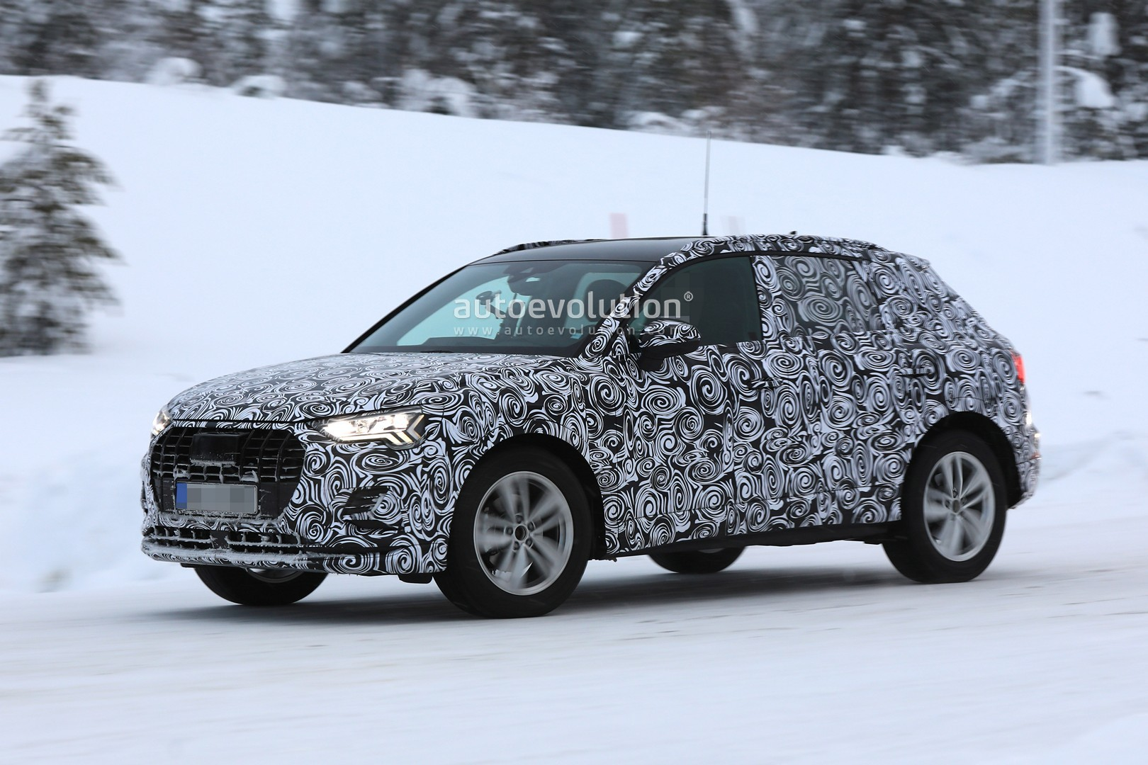 2019 Audi Q3 Spied With New Taillights Looks Tiguan Like