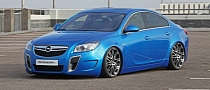 MR Car Design Tunes Opel Insignia OPC