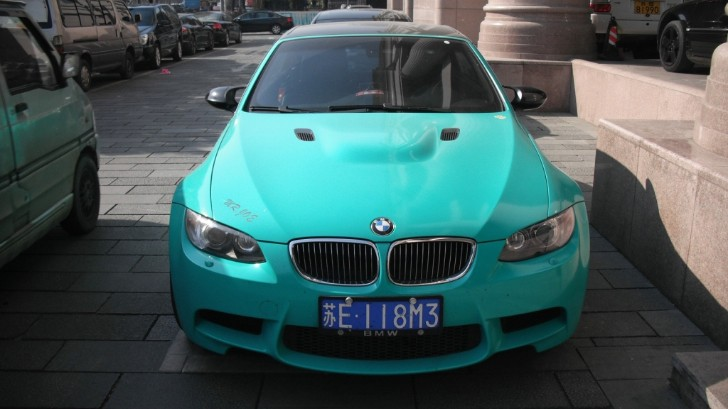 Mr. Joe's BMW E93 M3 Is Mint Green in China