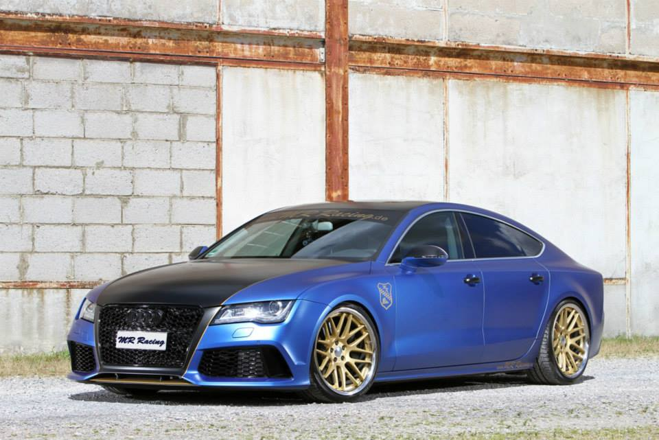 Mr Racing Tuned Audi A7 Tdi The Blue Wonder Autoevolution