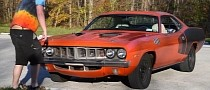 """Mr. Regular Reviews 1971 Plymouth Cuda 440 Clone, Finds It """"a Scary Machine"""""""