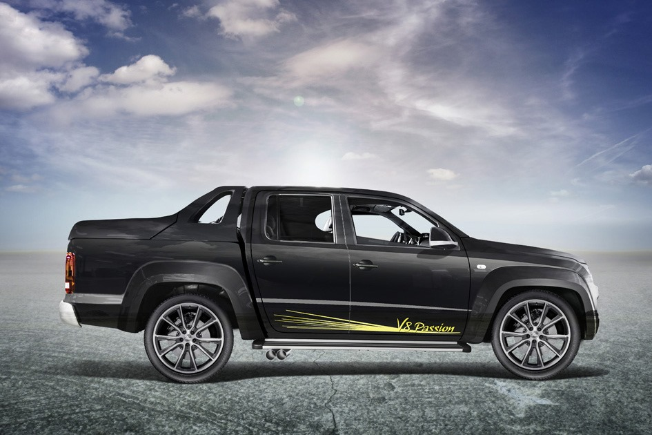 MTM Stuffs a V8 TDI into the Volkswagen Amarok for Geneva - autoevolution