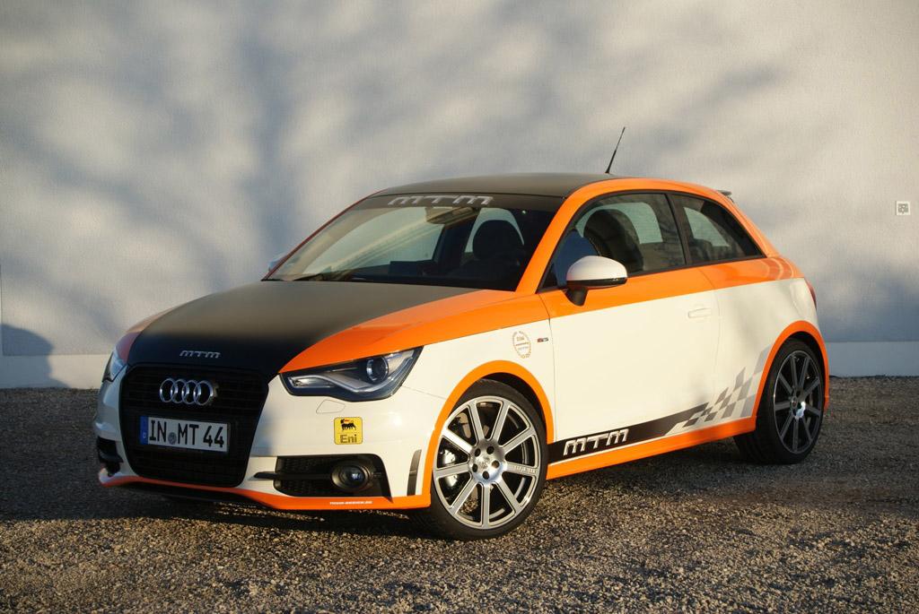 MTM's Audi A1 Hits 201 MPH at Nardo Highspeed Test - autoevolution
