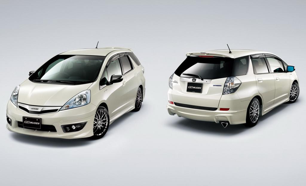 Mugen Tweaks The New Honda Fit Shuttle Autoevolution