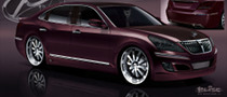 Mummbles Marketing Preparing Custom Hyundai Equus for SEMA