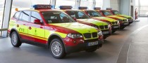 Munich Fire Department Gets BMW X3