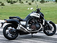 The Yamaha VMAX delivers 200BHP
