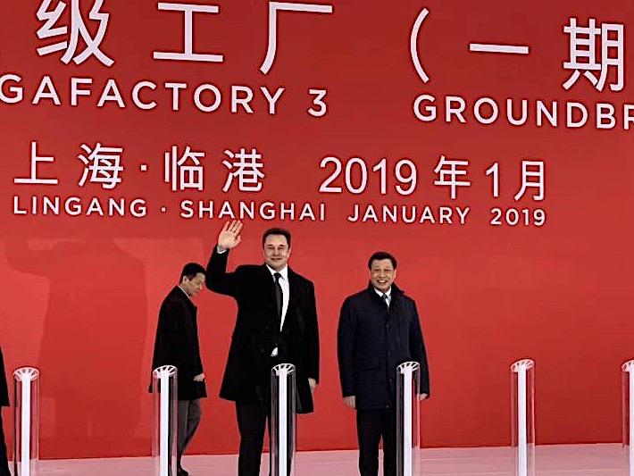 Elon Musk Says Tesla is Breaking Ground on Shanghai Gigafactory