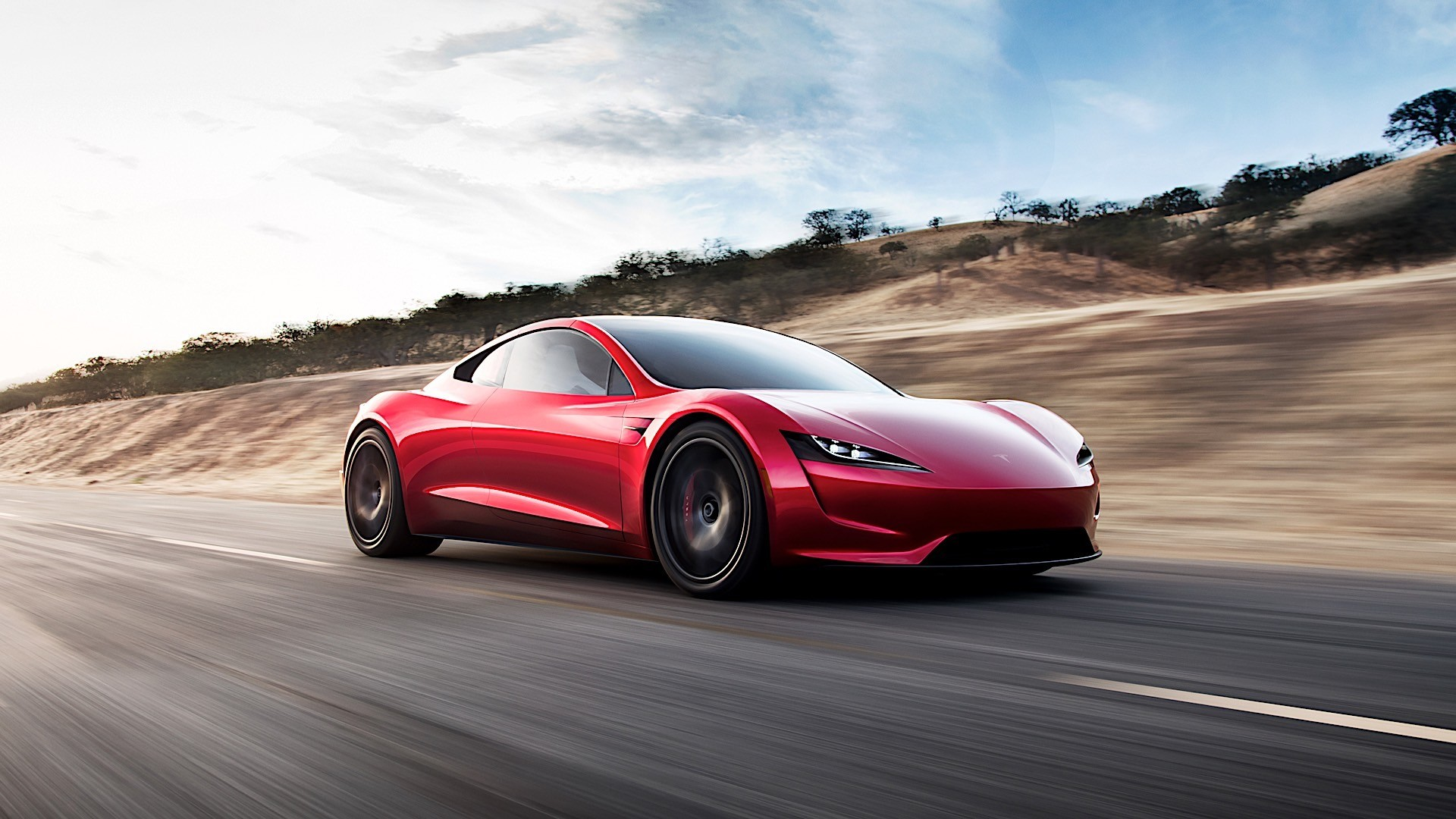 The Tesla Roadster's SpaceX package will replace the back seats with rockets