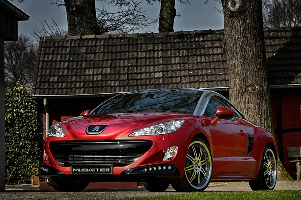 musketier tunes the peugeot rcz photo gallery. Black Bedroom Furniture Sets. Home Design Ideas