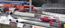 Mustang Boss 302 vs. Corvette ZR1 Drag Race [Video]