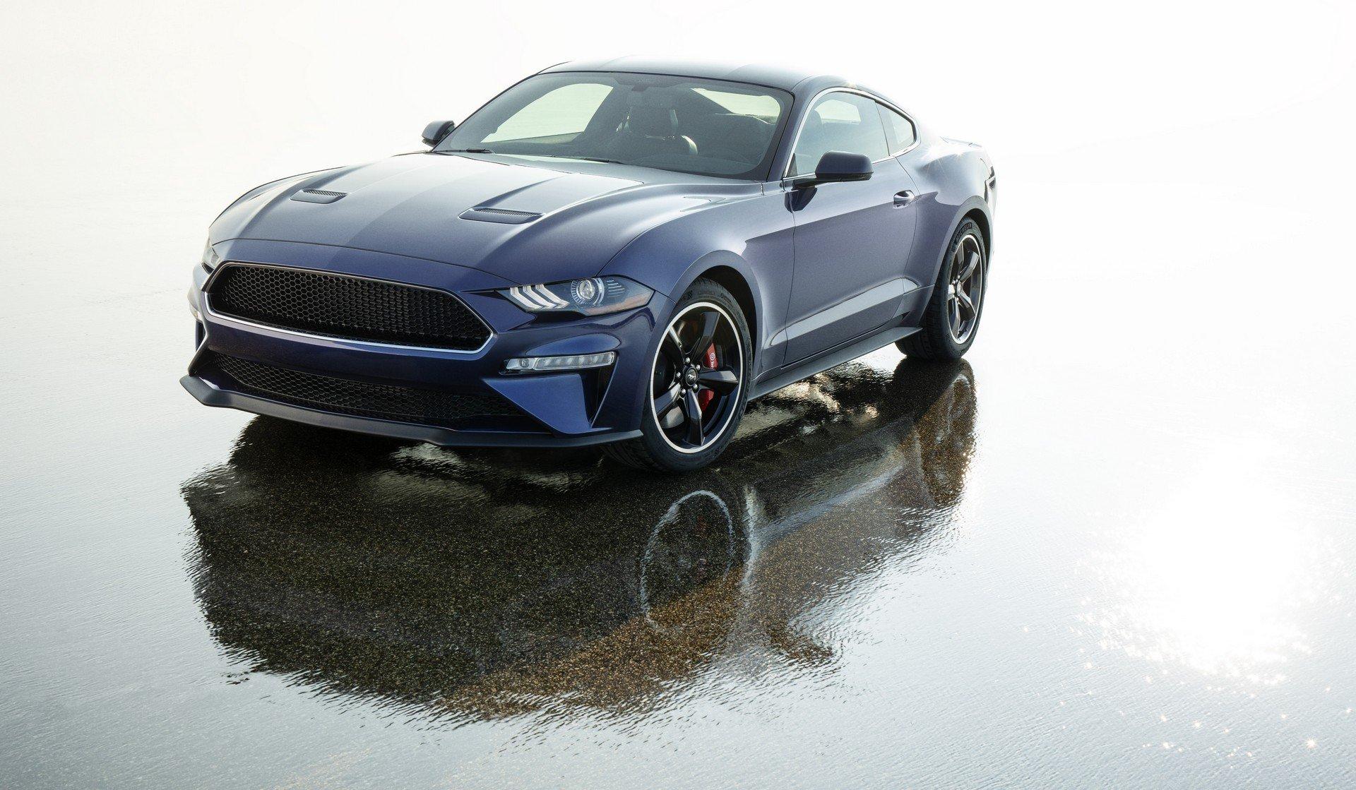 Kona Blue Mustang >> Mustang Bullitt In Kona Blue Is A Beautiful One Off
