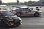 Mustang Cobra Jet Races Rallycross Fiesta. Who Will Win? [Video]