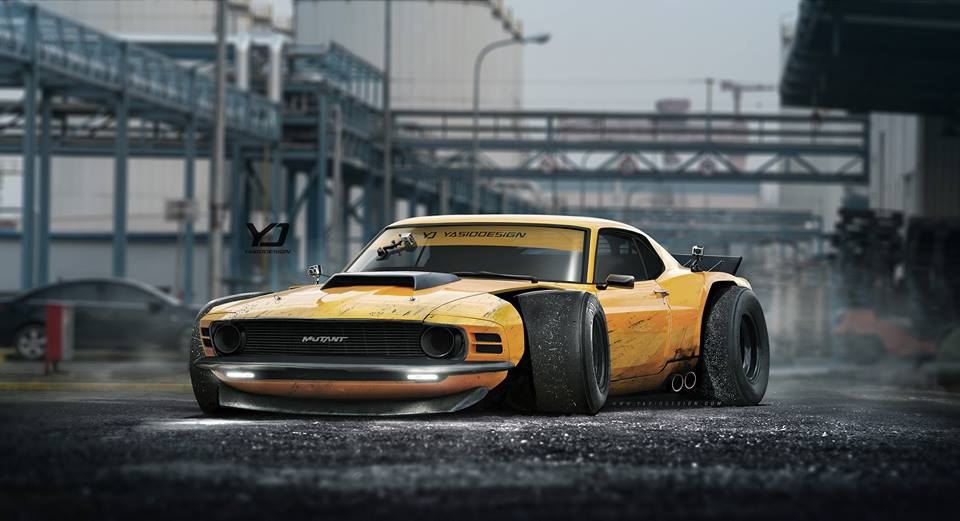 Mutant 1970 Boss 302 Mustang Looks Like The Muscle Car