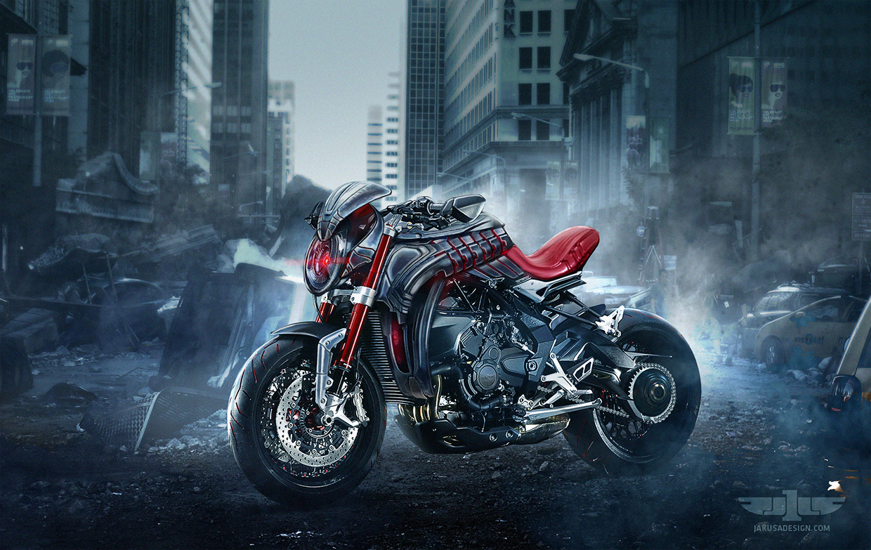 Mv Agusta Age Of Ultron Boasts Evil Looks Autoevolution