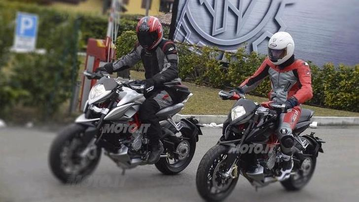 MV Agusta Rivale Spotted on the Road