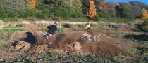 MX vs. ATV on Miniature Track [Video]