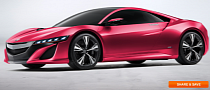 My Dream NSX App Lets You Make a Pink Supercar