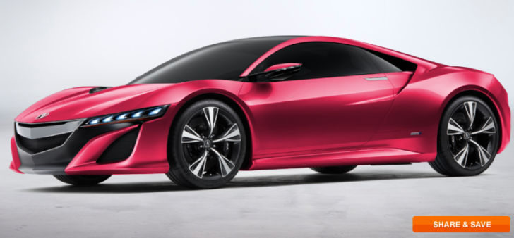 My Dream Nsx App Lets You Make A Pink Supercar Autoevolution