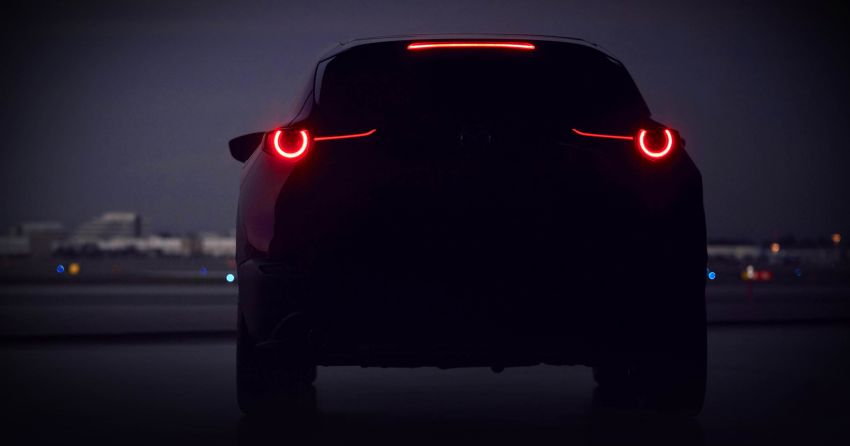 Mazda teases new compact crossover for Geneva debut