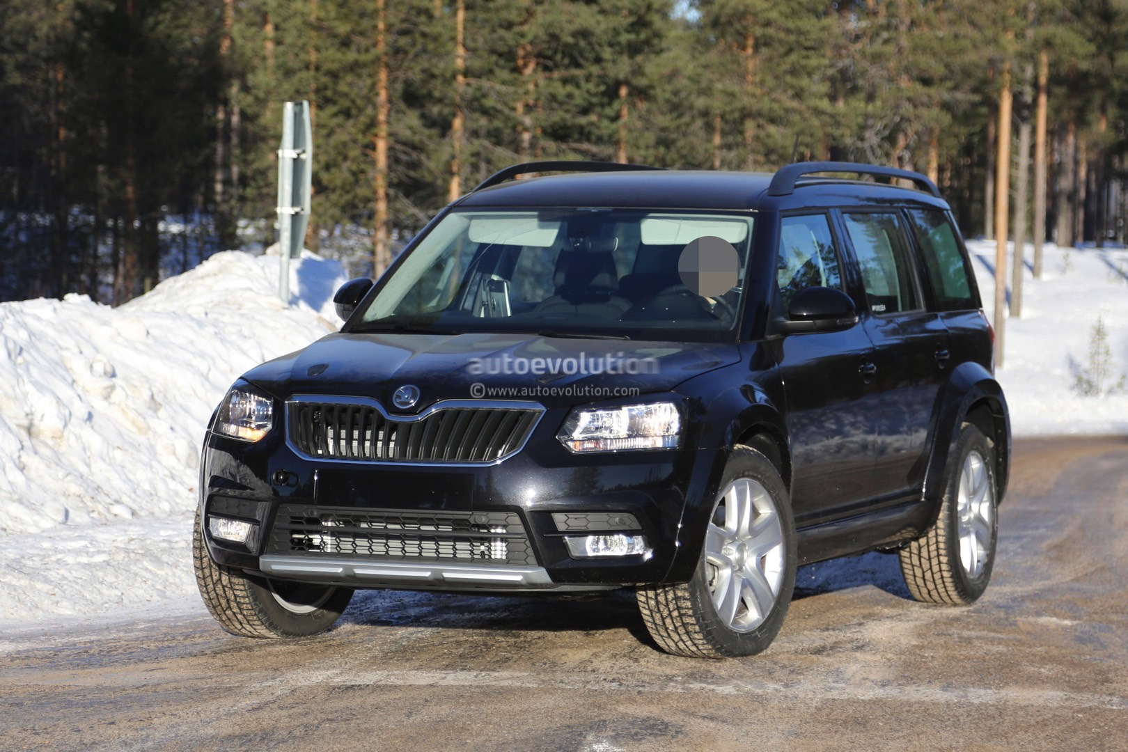 Mysterious Skoda Yeti Mule Spied Testing Could Preview