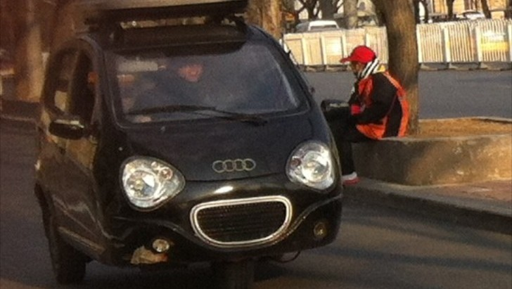 Mystery Audi Prototype Spotted Testing in China